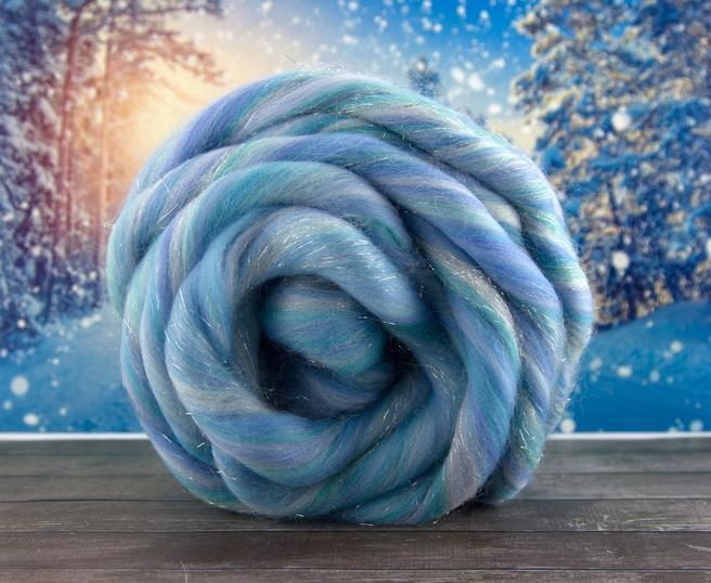 Fir gigant lana merino Frozen 0