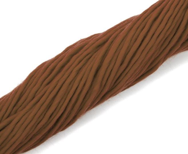 Fire super chunky lana Merino Chocolate 2