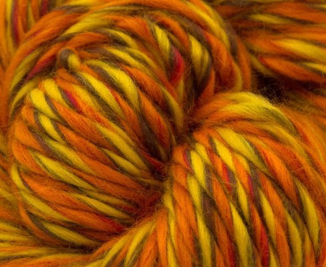 Fire super chunky lana Merino Blaze 1
