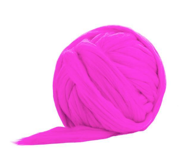 Fir gigant lana merino Flo Pink 0