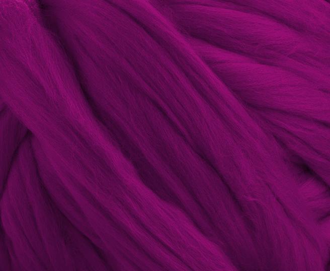 Fir gigant lana merino Fuchsia 1