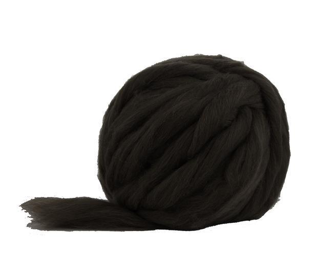 Fire Gigant lana Shetland Natural Black 0