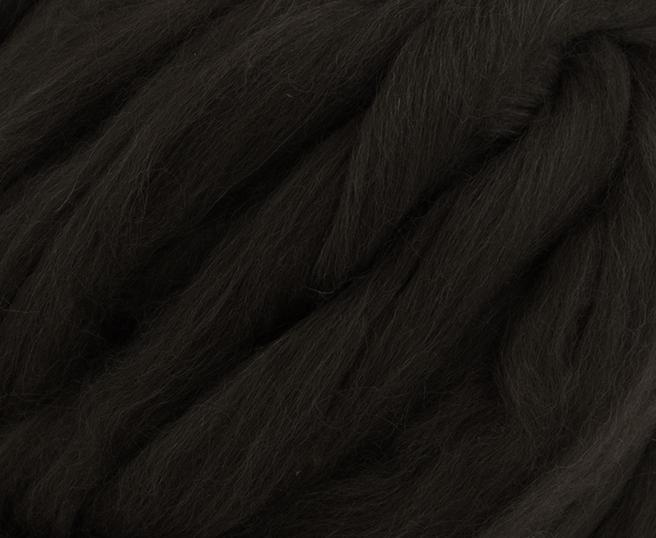 Fire Gigant lana Shetland Natural Black 1