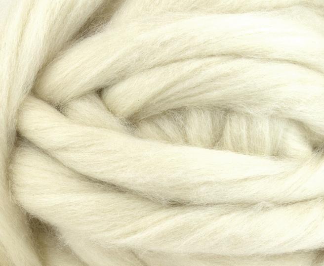 Fir gigant lana shetland  Natural White 1