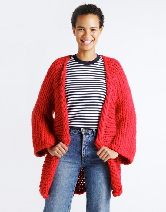 Kit tricotat cardigan Fearless 7