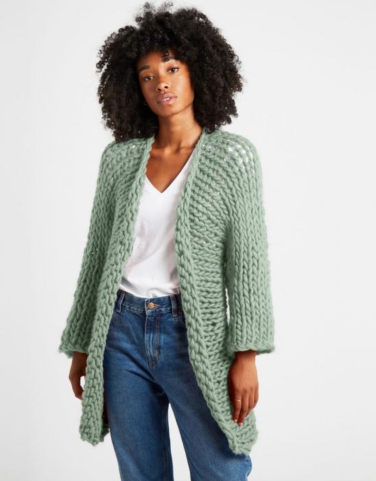 Kit tricotat cardigan Fearless 11
