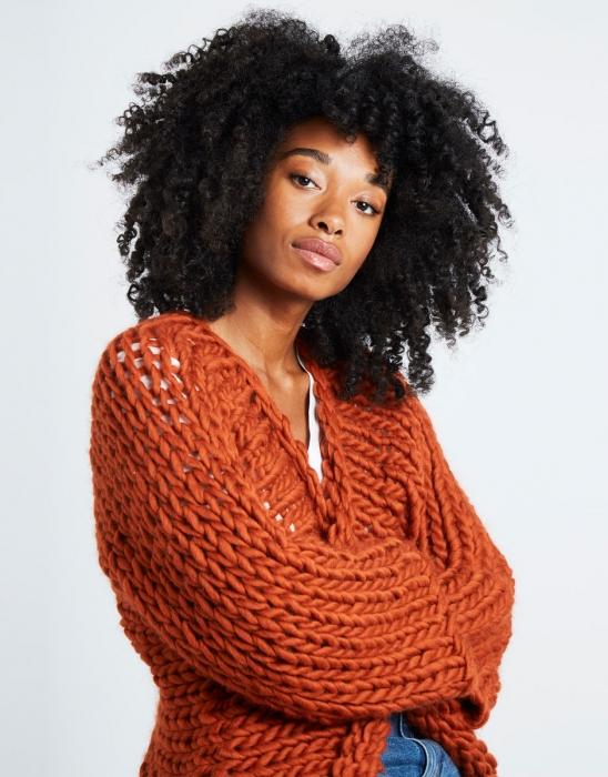 Kit tricotat cardigan Fearless 2