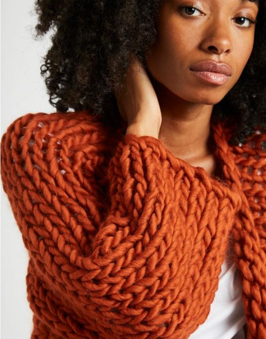 Kit tricotat cardigan Fearless 4