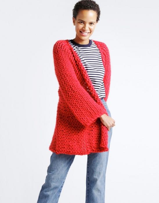Kit tricotat cardigan Fearless 6