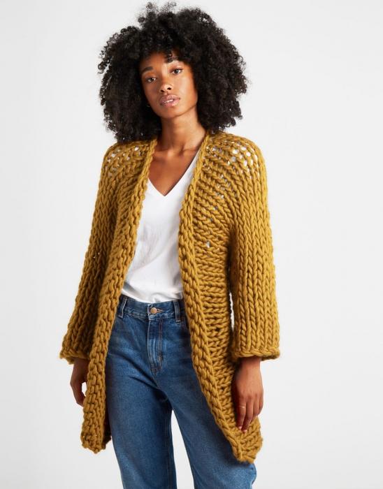 Kit tricotat cardigan Fearless 9