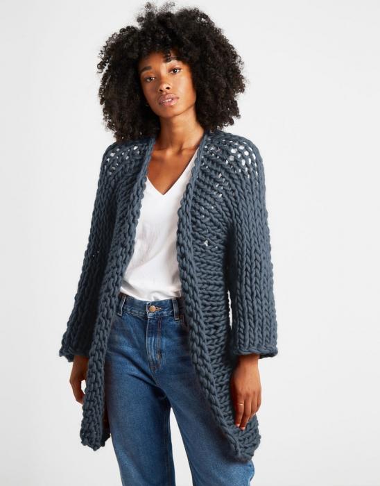 Kit tricotat cardigan Fearless 12