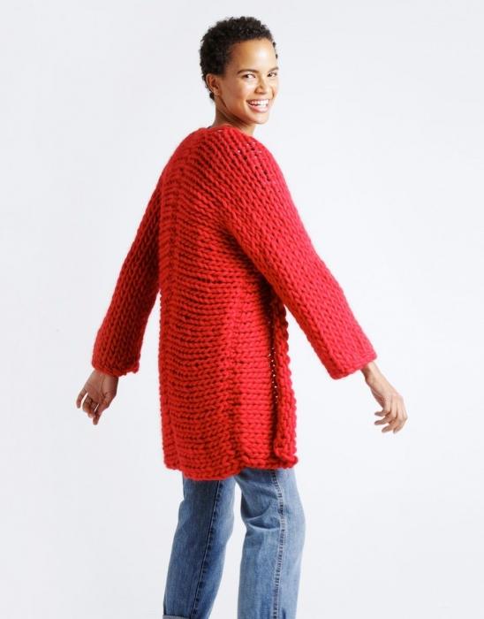 Kit tricotat cardigan Fearless 8