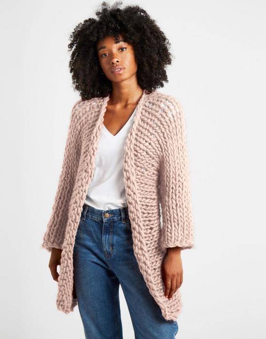 Kit tricotat cardigan Fearless 10