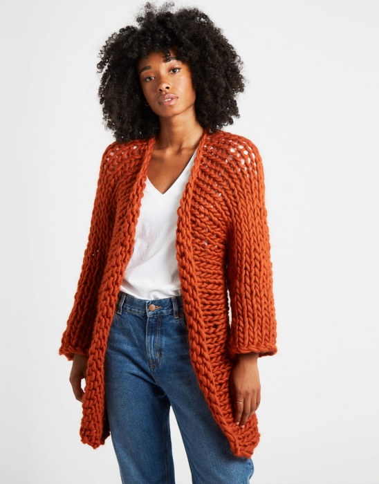 Kit tricotat cardigan Fearless 3