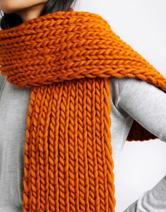 Kit tricotat fular Whistler 7