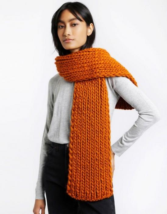 Kit tricotat fular Whistler 6