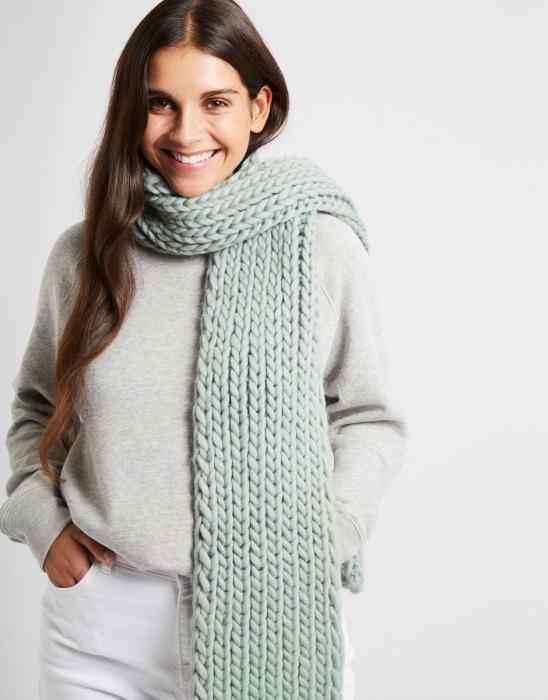 Kit tricotat fular Whistler 0