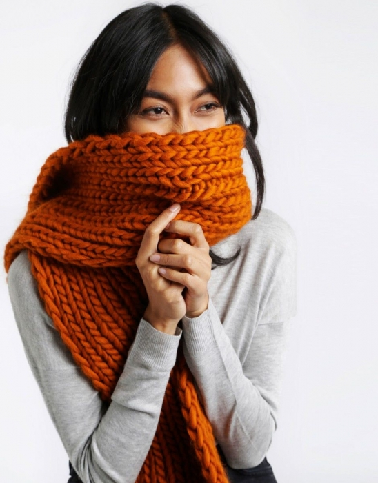 Kit tricotat fular Whistler 8