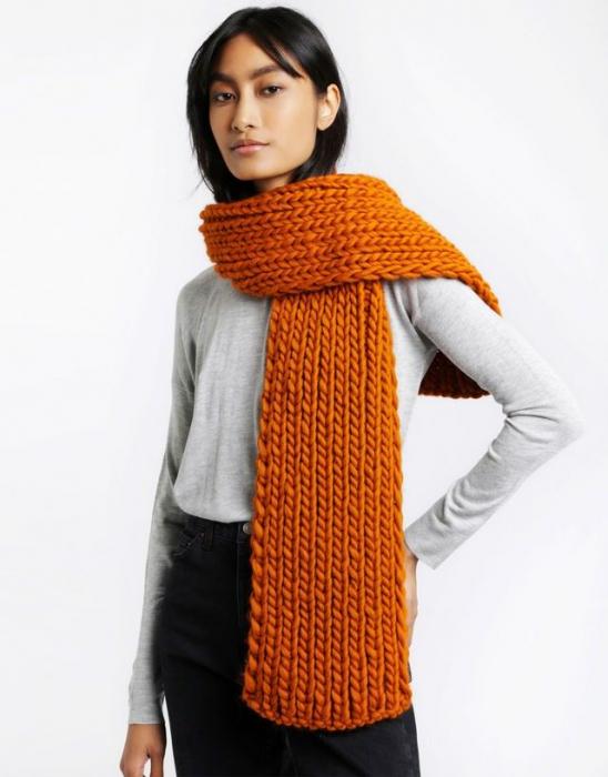Kit tricotat fular Whistler Scarf [0]