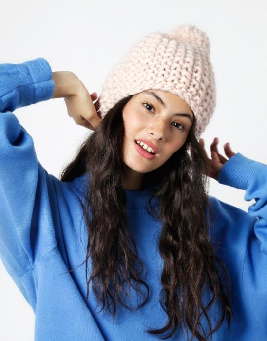 Kit tricotat caciula Happy Daze 5