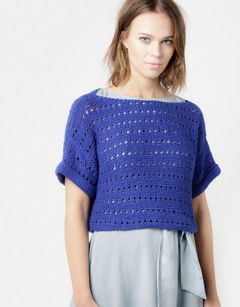 Kit tricotat pulover Diana 0