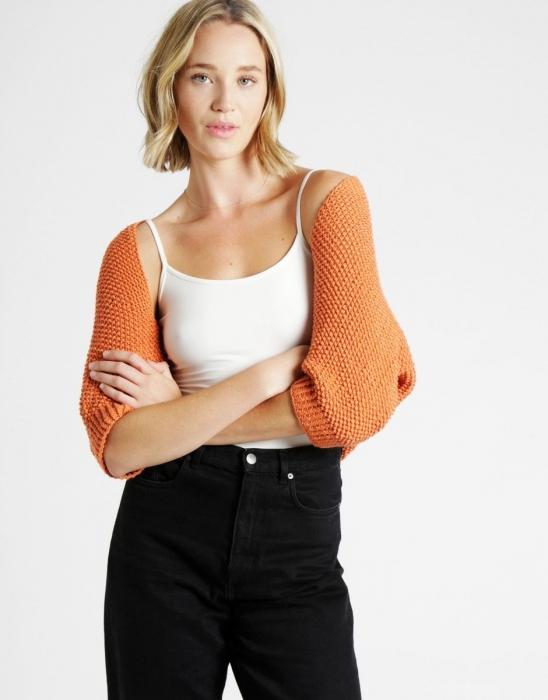 Kit tricotat sal cu maneci Riri 3