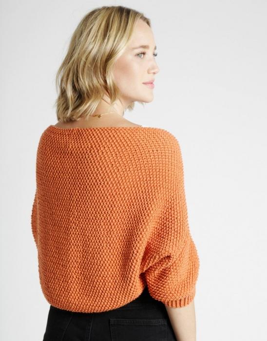 Kit tricotat sal cu maneci Riri 5