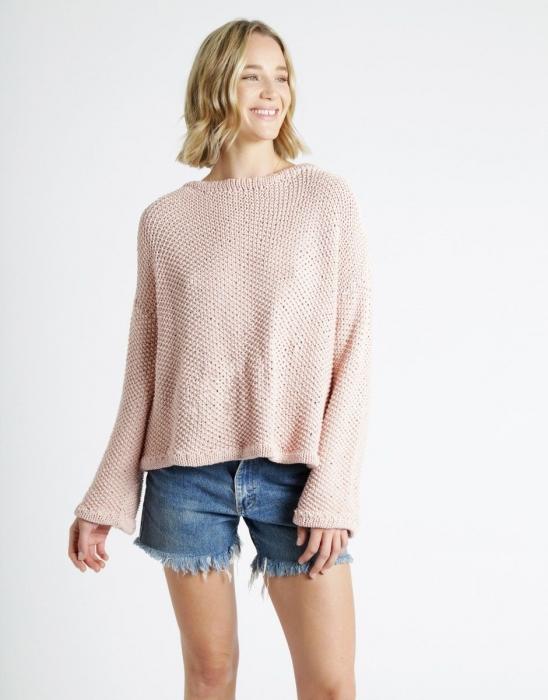 Kit tricotat pulover Julia 0