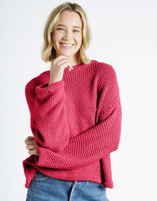 Kit tricotat pulover Julia 3