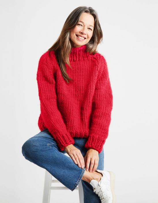 Kit tricotat pulover Eden Jumper 6