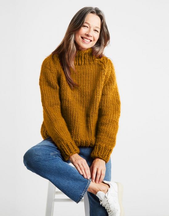 Kit tricotat pulover Eden Jumper 9