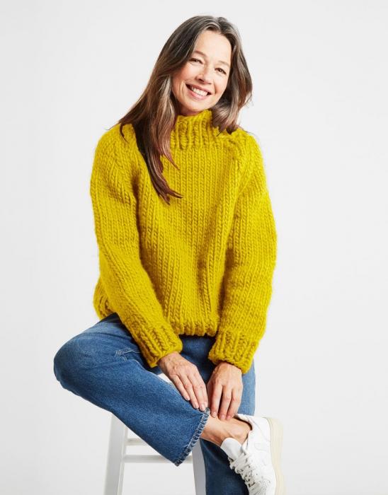 Kit tricotat pulover Eden Jumper 7