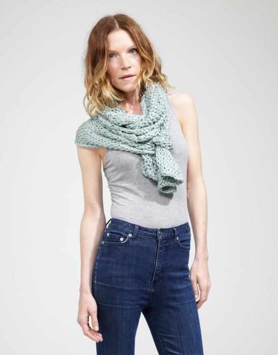 Kit tricotat esarfa Lacey Sissi 6