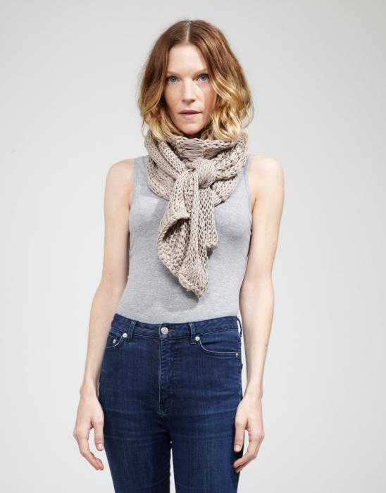 Kit tricotat esarfa Lacey Sissi 5