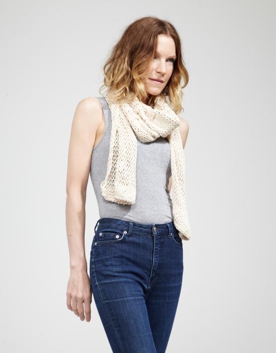 Kit tricotat esarfa Lacey Sissi 2