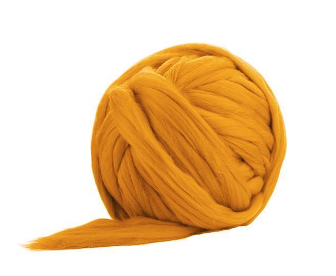 Ghem fir gigant lana Merino Marigold 500 gr 0