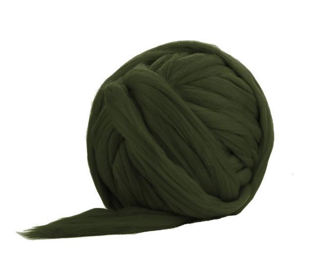 Fir gigant lana merino Moss 0