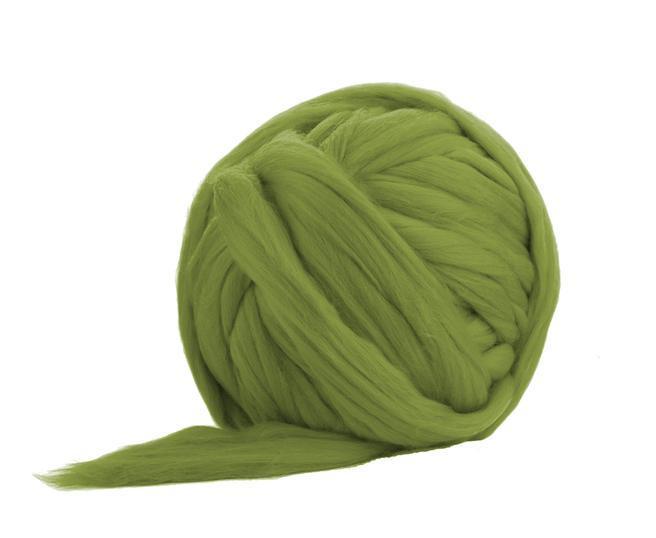 Fir gigant lana merino Sage 0