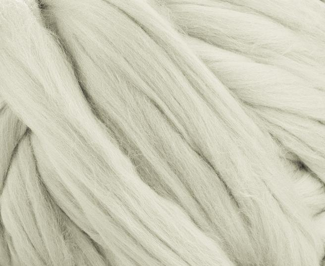 Fir gigant lana merino Superfine Natural White 1
