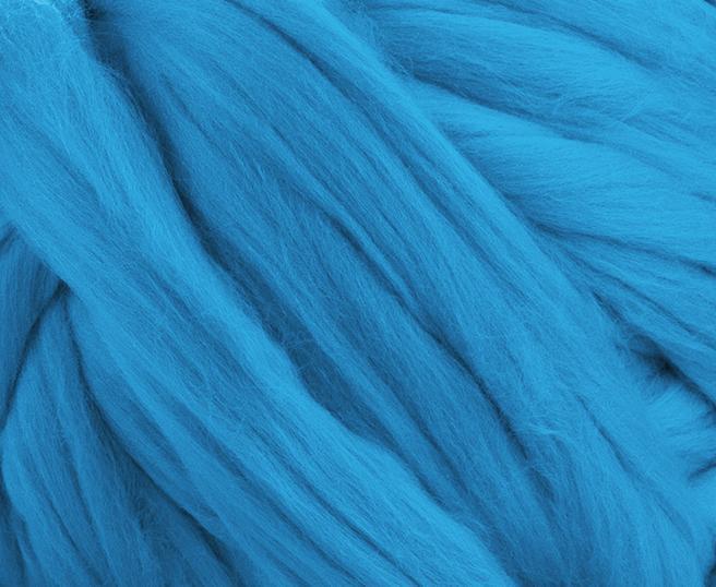 Fir gigant lana merino Turquoise 1