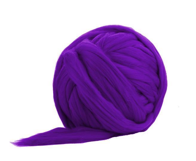 Fir gigant lana merino Violet 0
