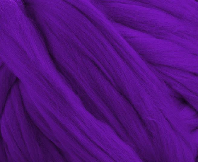 Fir gigant lana merino Violet 1