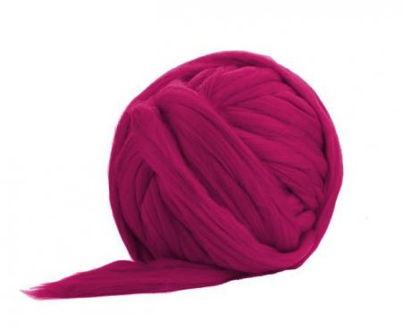 Fir gigant lana merino Raspberry [0]
