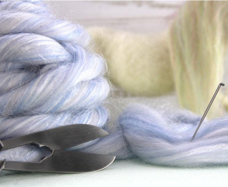 Fir gigant lana merino Snowglobe [2]