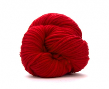Fire super chunky lana Merino Scarlet0