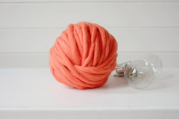 Fire super chunky Squiggly Orange 235gr0