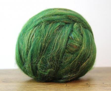 Fire Gigant lana Merino Christmas Blend Green1