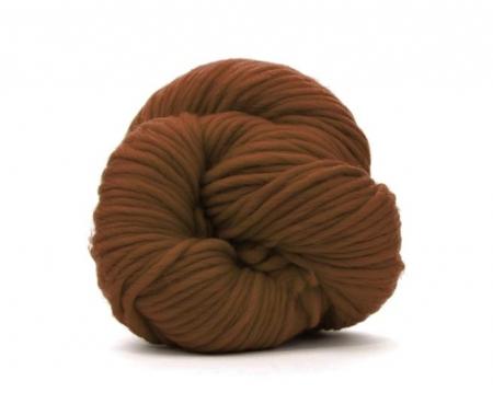 Fire super chunky lana Merino Chocolate0