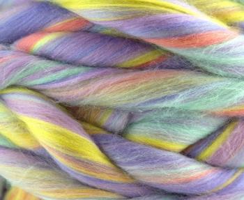 Fular circular lână Merino Unicorn2