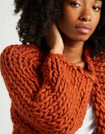 Kit tricotat cardigan Fearless4